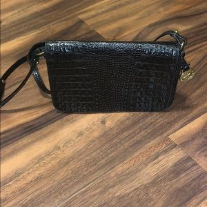 Brahmin Croc Crossbody Purse